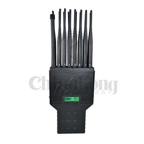 Jammer gps blocker , 5 Antennas Portable Cell Phone signal Jammer blocking 2G/3G/4G all signals